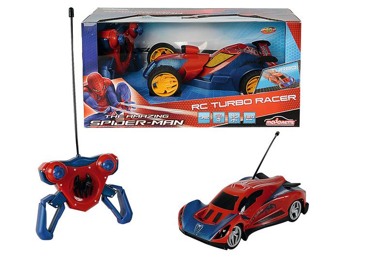 Spiderman Masina RC 124 Turbo Cu 2 Canale