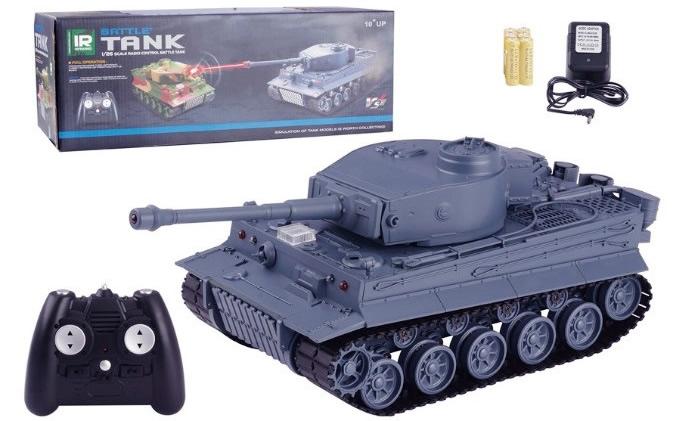 Tanc German Tiger 126, functie infrarosu, cu telecomanda