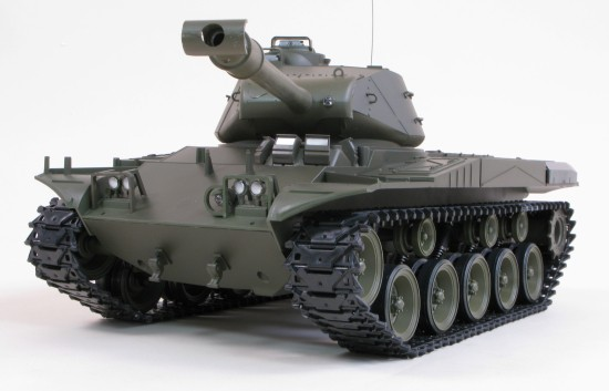 Tanc Walker Bulldog M41A3, trage cu bile tip Airsoft - Numai pentru adulti