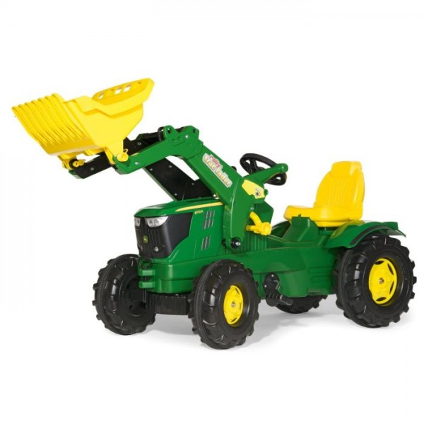 Tractor Rolly Toys X-Trac John Deere cu cupa