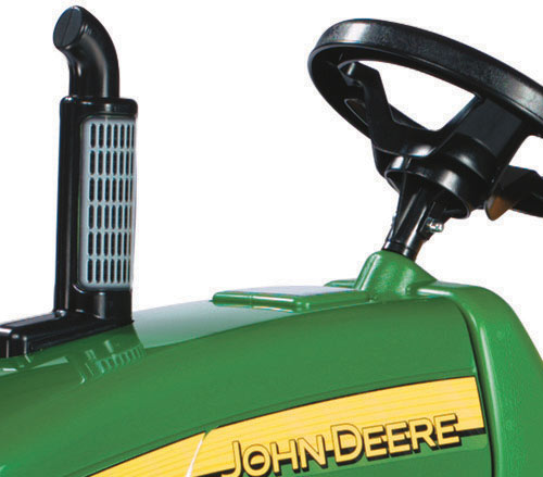 Tractor Rolly Toys X-Trac John Deere cu cupa - 1