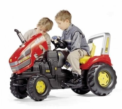 Tractor cu Pedale Rolly Toys X-Trac - 4