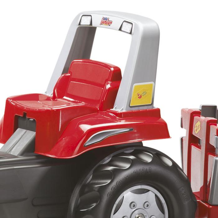 Tractor cu pedale Rolly Junior cu remorca - 2