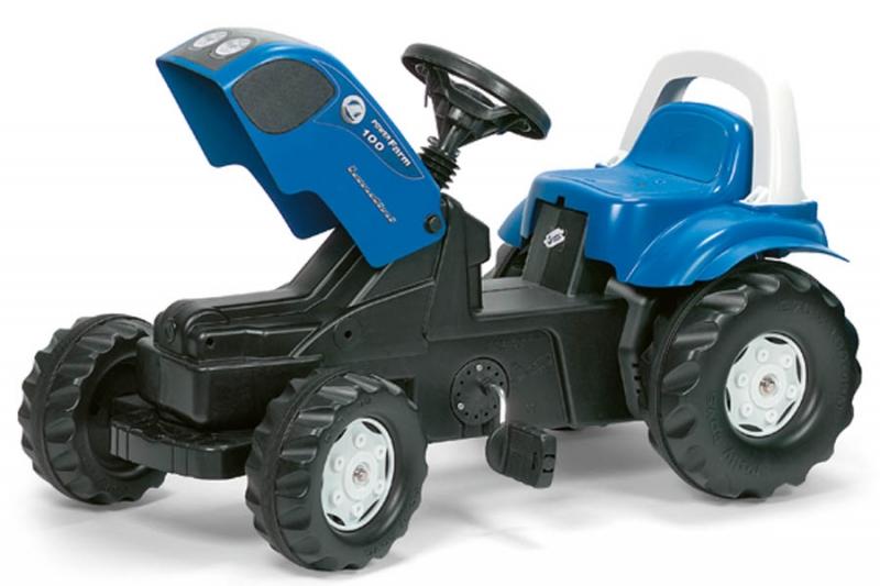 Tractor cu pedale Rolly Toys Kid Landini cu remorca - 1
