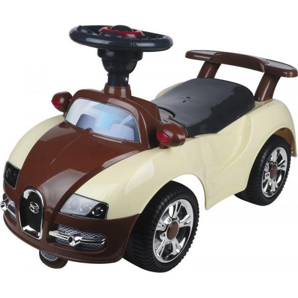 Vehicul pentru copii Adventure – bej din categoria La Plimbare de la BABY MIX