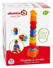Vitamina G jucarie girafa turn cu activitati