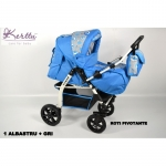 Carucior Kerttu Tiger OX 2 in 1 multifunctional