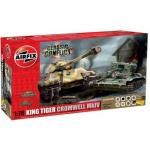 Kit constructie Set tank King Tiger si Cromwell MKIV