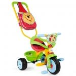 Tricicleta Be Move Confort Winnie The Pooh Cu Gentuta