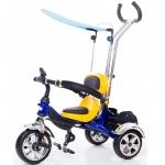 Tricicleta pentru copii Ares KR01 Galben/Albastru