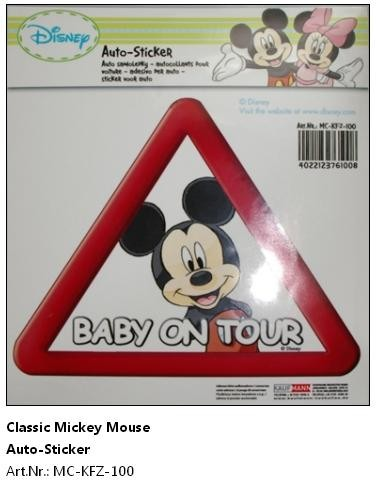 Baby La Bord - Stiker Mickey Mouse
