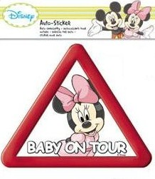 Baby La Bord - Stiker Minnie Mouse