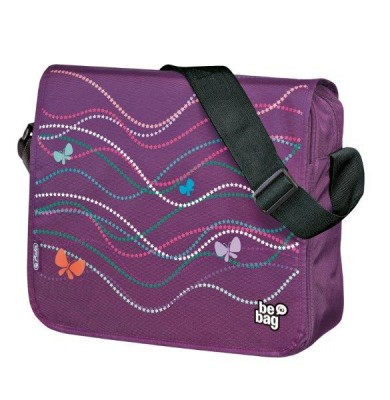 Geanta de umar Messenger Be Bag Butterfly Power Herlitz