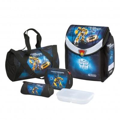 Ghiozdan echipat Flexi Plus Transformers Herlitz