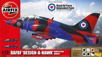 Kit constructie si pictura RAFBF Hawk Design a Hawk Scheme