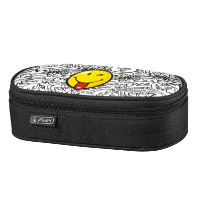 Penar Necessaire Oval Smiley Scribble Herlitz