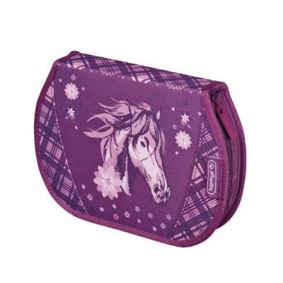 Penar echipat 26 piese Flexi Glitter Horse Herlitz
