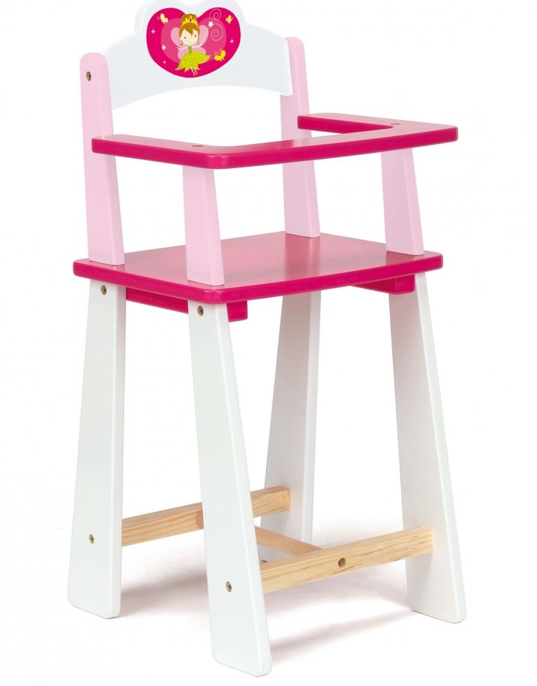 Scaun de masa papusi Fairy, din lemn