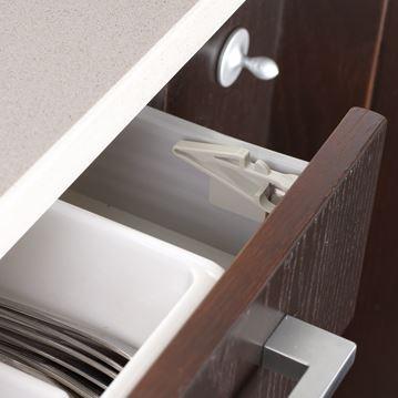 Set sistem de siguranta pentru sertarele superioare BebeduE 1328 imagine