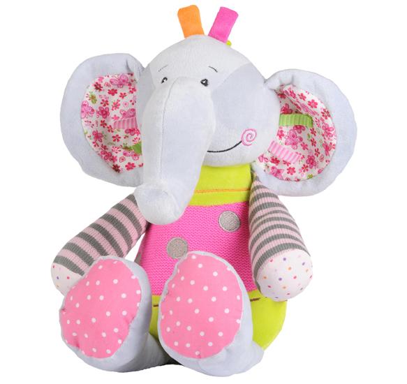 Jucarie plus cu zornaitoare Elefant