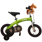 Bicicleta 2 in 1 Balance Bike green 12 inch