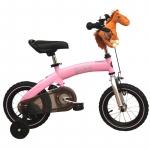 Bicicleta 2 in 1 Balance Bike pink 12 inch