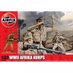 Kit constructie si pictura soldat Afrika Korps