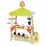 Piata de jucarie din lemn cu accesorii