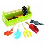Set de unelte de gradinarit cu sort pentru copii