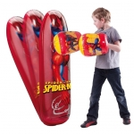 Set manusi de box + sac de box Spiderman