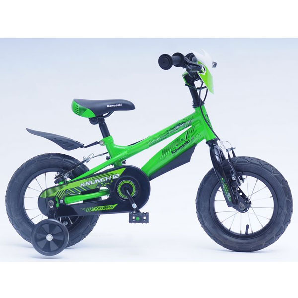 Bicicleta copii Kawasaki Krunch green 12 Ironway
