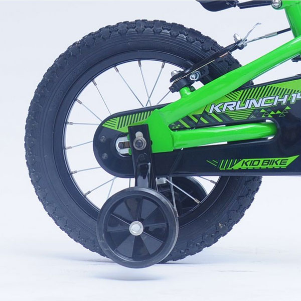 Bicicleta copii Kawasaki Krunch green 14 Ironway