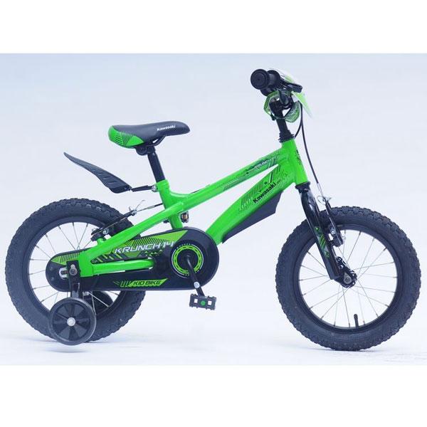 Bicicleta Copii Kawasaki Krunch Green 14 Ironway