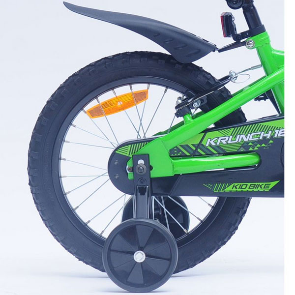 Bicicleta copii Kawasaki Krunch green 16 Ironway
