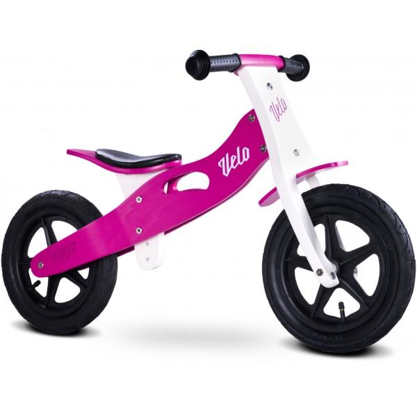 Bicicleta de lemn fara pedale Toyz Velo Purple