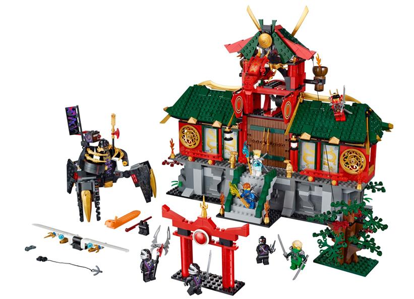 Lupta pentru orasul Ninjago (70728)
