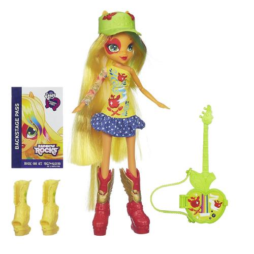 My Little Pony Equestria Girls - Apple Jack cu Accesorii