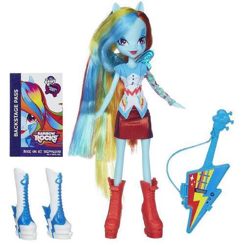 My Little Pony Equestria Girls - Rainbow Dash cu Accesorii