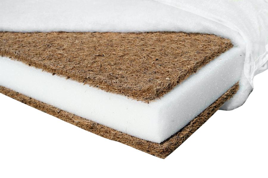 Set Saltele Cocos Confort 120x70x10 50x70x10 Microfibra
