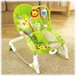 Balansoar 2 in 1 Newborn to Toddler Rainforest Friends