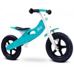 Bicicleta de lemn fara pedale Toyz Velo Aqua