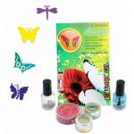 Set tatuaje temporare germane (glitter tattoos) Butterflies Eulenspiegel ST730584EULGT