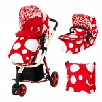 Carucior 2 in 1 Cosatto Giggle Red Bubbles