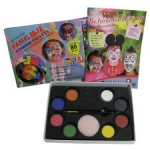 Set 8culori germane face paint Eulenspiegel ST208014EUL8