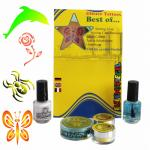 Set tatuaje temporare germane (glitter tattoos) Best Of Eulenspiegel ST730515EULGT