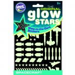 Stickere Navete spatiale fosforescente The Original Glowstars Company B8003