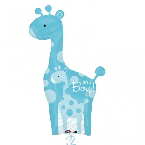 Balon folie figurina Girafa Its a Boy