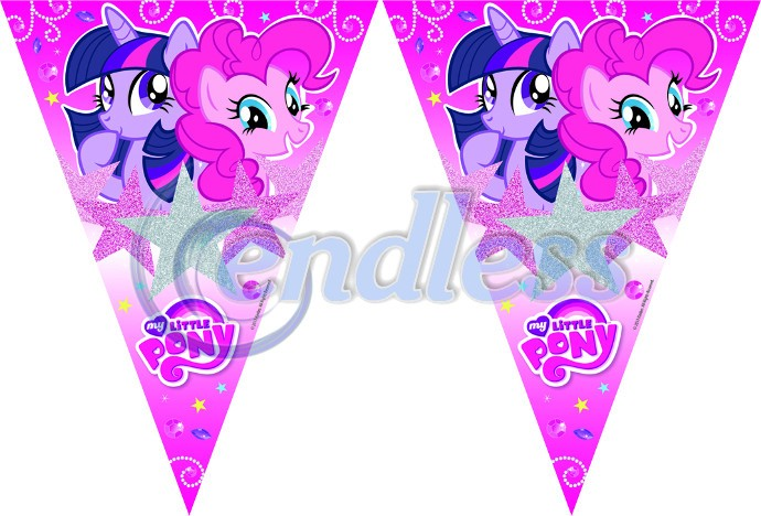 Banner stegulete My Little Pony Sparkle