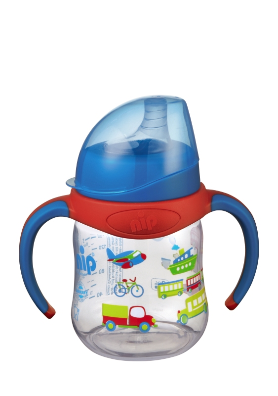 Canuta Training Bottle Boy 150 ml PP 6+ luni