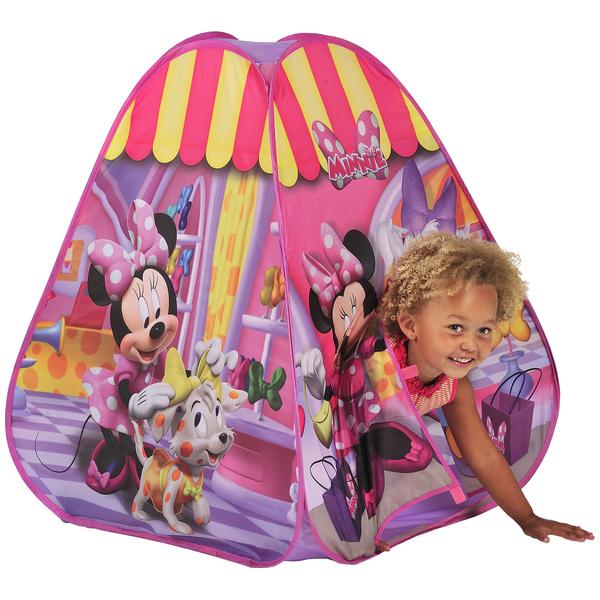 Cort de joaca Playhut Pop-up Minnie Adventure Tent
